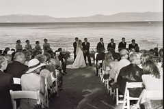 Lake Tahoe Wedding In September in Tahoe City, CA, USA