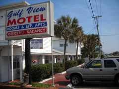 Gulf View Motel - Hotel - 1404 Highway 98, Mexico Beach, FL, United States