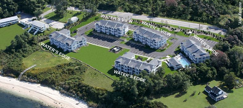 Cliffside Resort Waterfront Condos - Hotels/Accommodations - 61475 Route 48, Greenport, NY, 11944