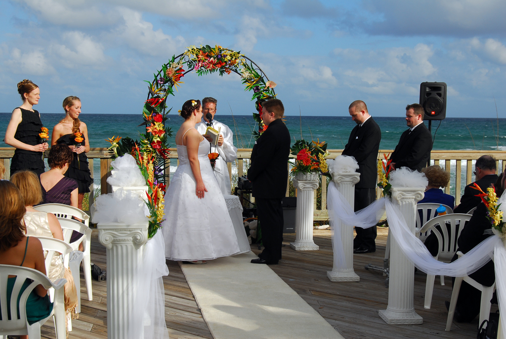 Ceremony At Deerfield Beach - Ceremony Sites - SE 21st Ave & SE 9th St, Deerfield Beach, FL, 33441