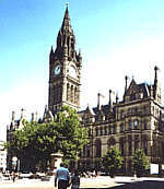Manchester Town Hall - Attraction - Manchester Town Hall, Manchester, Greater Manchester M60, Manchester, England, GB