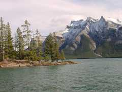 Lake Minnewanka - Ceremony - Lake Minnewanka Loop, Banff National Park, Banff, AB, Canada