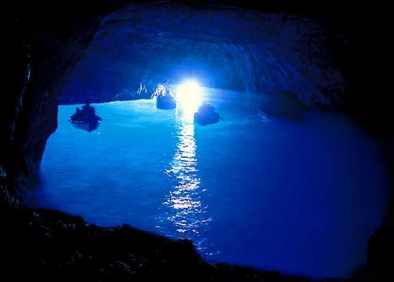 Blue Grotto - Attractions/Entertainment - Grotta Azzurra, Capri, Italy