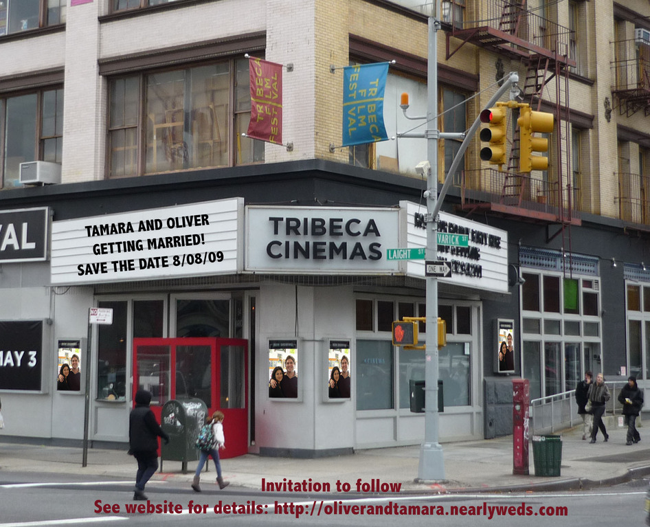 Tribeca Cinemas - Ceremony & Reception - 54 Varick St, New York, NY, 10013
