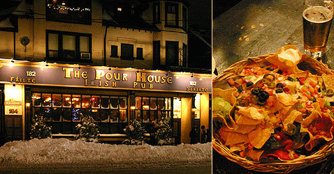 Pour House Irish Pub - Restaurants - 182 Dupont St, Toronto, ON, M5R