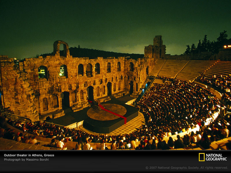 Odeon Of Herodes Atticus - Attractions/Entertainment - Athens