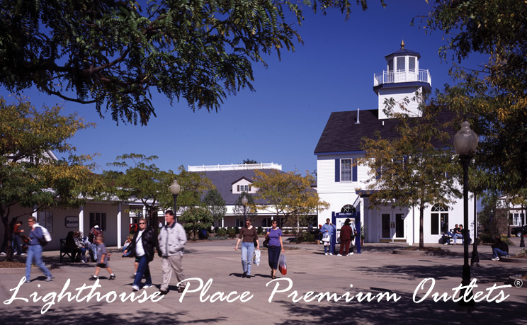 Lighthouse Place Premium Outlets - Attractions/Entertainment, Shopping - 601 Wabash St, Michigan City, IN, 46360