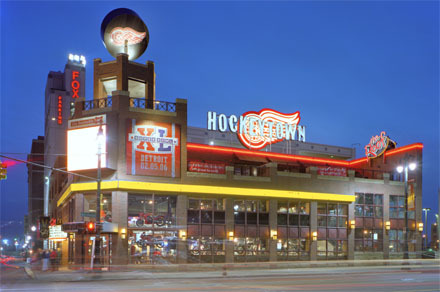 Hockeytown Cafe - Restaurants, Attractions/Entertainment - 2301 Woodward Avenue, Detroit, MI, United States