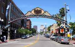 Gaslamp district downtown - Attraction - Gaslamp, San Diego, CA