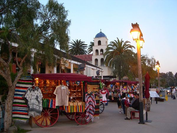 Old Town San Diego - Attractions/Entertainment - Old Town, San Diego, CA, San Diego, CA, US