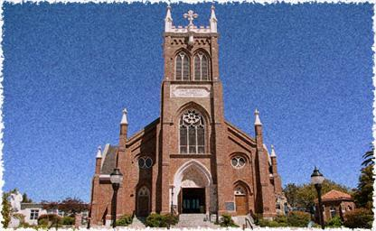St. Vincent Ferrer Catholic Church - Ceremony Sites - 925 Sacramento St, Vallejo, CA, 94590