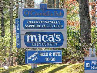 Helen O'connell's Pub & Mica's Restaurant - Bars/Nightife - Sapphire, NC, 28774-9613