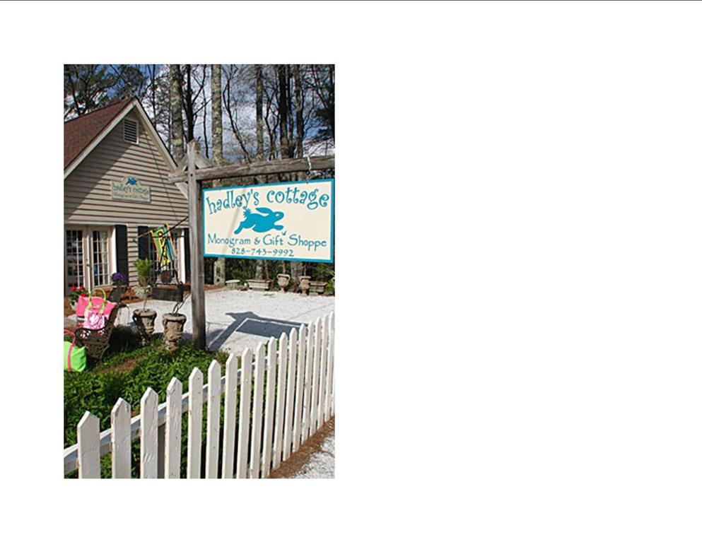 Hadley's Cottage - Shopping - 137 Highway 107 North, Cashiers, NC, 28717