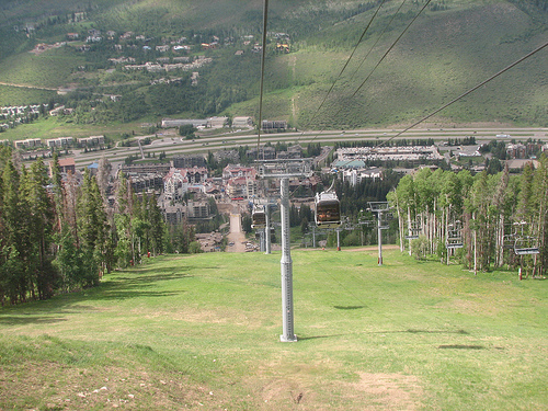 Eagle Bahn Gondola To Wedding Ceremony - Ceremony Sites -