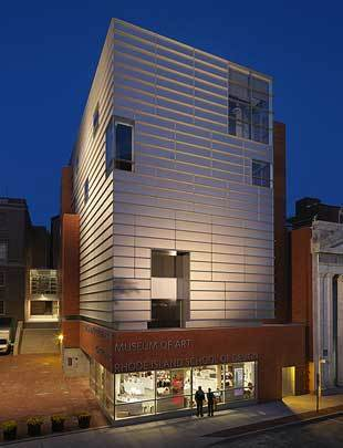 Risd Museum (providence) - Attractions/Entertainment - 224 Benefit Street, Providence, RI, United States