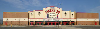 Brighton Town Sq Cinema 16 - Attractions/Entertainment - 8200 Murphy, Brighton, MI, United States