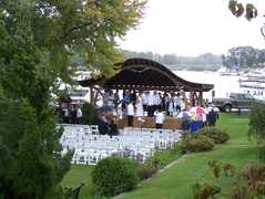 Pell Garden - Ceremony - 108 Bohemia Ave, Chesapeake City, MD, 21915