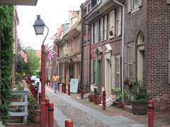 Elfreths Alley - Attraction - 126 Elfreths Aly, Philadelphia, PA, United States