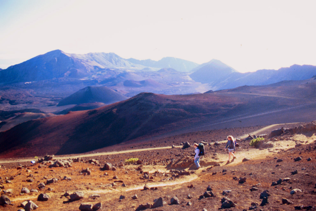 Haleakala Crater - Parks/Recreation, Attractions/Entertainment - Haleakalā Crater, US