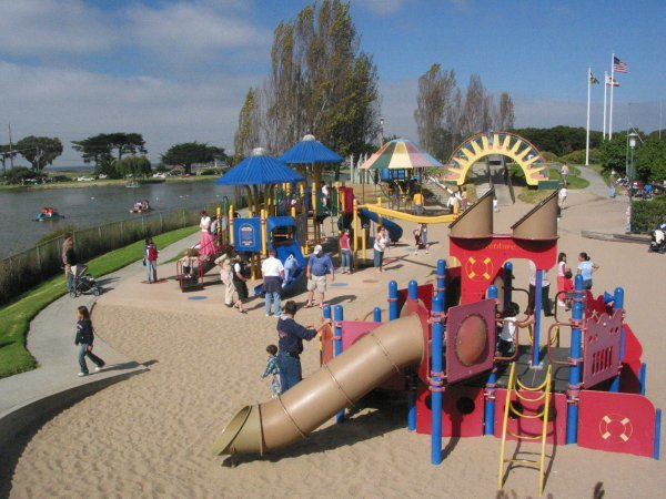 Dennis The Menace Park - Attractions/Entertainment, Parks/Recreation - Pearl St, Monterey, CA, United States
