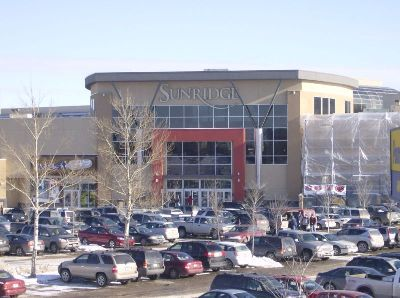 Sunridge Mall - Attractions/Entertainment - 2525 36 St NE, Calgary, AB, T1Y 5T4, CA