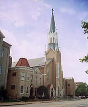 St Mary's Catholic Church - Ceremony Sites - 613 Cherry St, Evansville, IN, 47713
