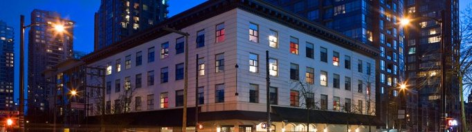 Moda Hotel - Hotels/Accommodations - 900 Seymour St, Vancouver, BC, Canada