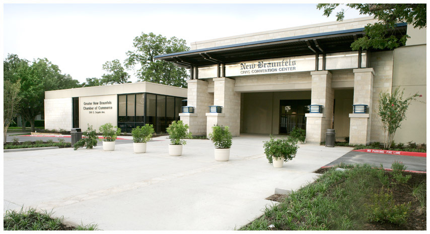 New Braunfels Civic Center - Reception Sites, Ceremony Sites - 375 S Castell Ave, New Braunfels, TX, 78130