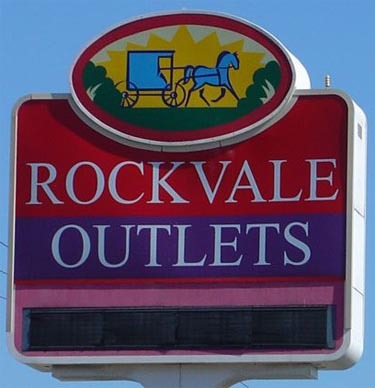 Rockvale Square Outlets - Attractions/Entertainment, Shopping - 35 S Willowdale Dr # 127, Lancaster, PA, United States