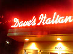 Dave's Italian Kitchen - Restaurant - 1635 Chicago Ave, Evanston, IL, United States