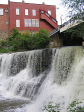 The Falls Park & Walkway - Parks/Recreation - 21 W Washington St, Chagrin Falls, OH, 44022