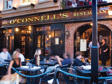 O'connell's - Bars/Nightife, Rehearsal Lunch/Dinner, Restaurants, Attractions/Entertainment - 112 King Street, Alexandria, VA, United States