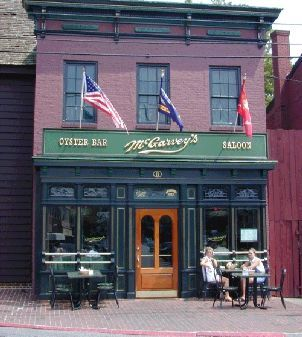 Mc Garvey's Saloon - Restaurants, Bars/Nightife - 8 Market Space, Annapolis, MD, United States