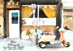 Max's Restaurant - Restaurant - 51 Avenue B, New York, NY, 10009