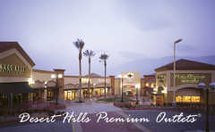Desert Hills Premium Outlets - Attraction - 48400 Seminole Dr, Cabazon, CA, 92230