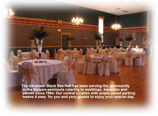Ukrainian Black Sea Hall - Reception Sites, Attractions/Entertainment - 455 Welland Ave, St Catharines, ON, L2M5V2, CA