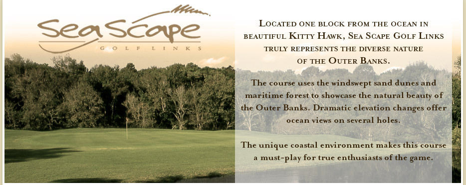 Sea Scape Golf Links - Golf Courses, Attractions/Entertainment - 300 W Eckner St, Kitty Hawk, NC, 27949