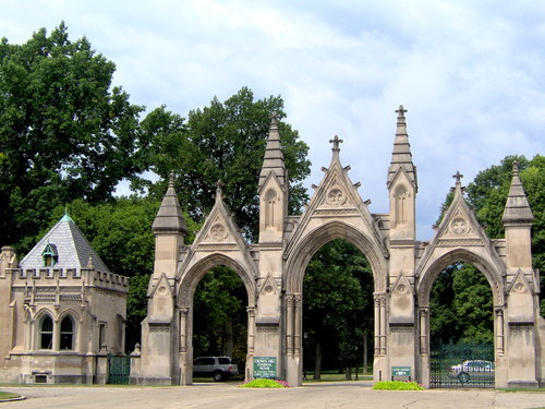 Crown Hill Cemetery - Parks/Recreation - 330 W 32nd St, Indianapolis, IN, United States