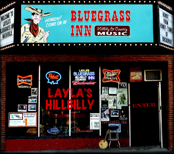 Laya's Bluegrass Inn - Bars/Nightife - 418 Broadway, Nashville, TN, 37203