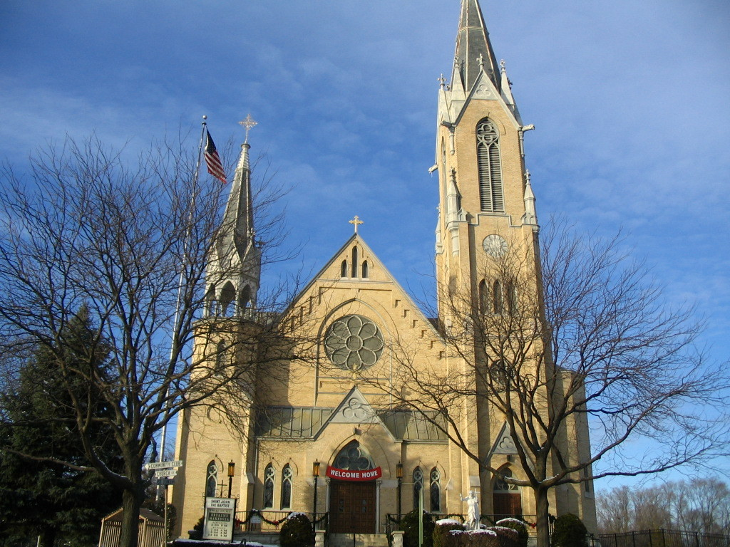 St. John The Baptist Catholic Church - Ceremony Sites - 2302 Church St, McHenry, IL, 60051