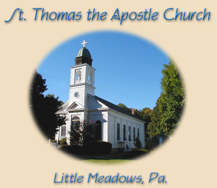 St. Thomas The Apostle Roman Catholic Church - Ceremony Sites - Maple Street, Little Meadows, PA, 18830