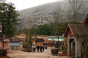 Stone Mountain - Parks/Recreation, Attractions/Entertainment - 1000 Robert E Lee Blvd, Stone Mountain, GA, 30087