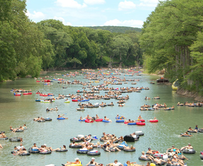 Tubing In Texas - Parks/Recreation - New Braunfels, TX, United States