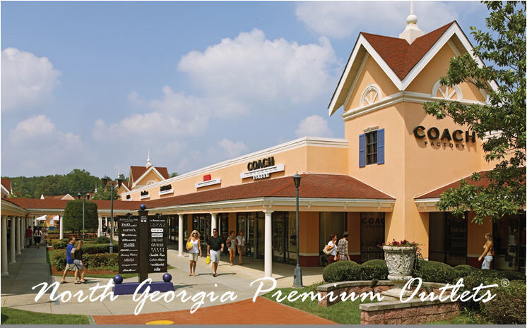 North Georgia Premium Outlets - Attractions/Entertainment, Shopping - 800 Highway 400 South, Dawsonville, GA, United States