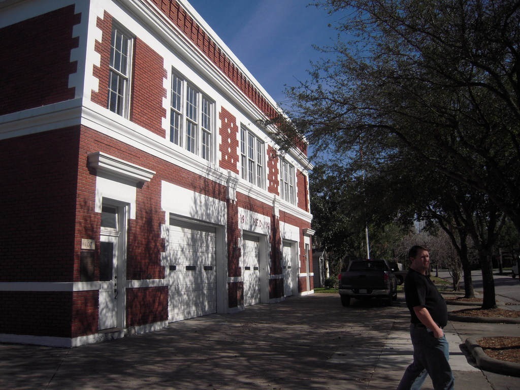 The Historic Heights Fire Station - Reception Sites - 107 W 12th St, Houston, TX, 77008