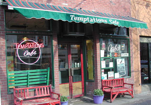 Temptations Cafe - Restaurants - 80 1/2 Main St, Nyack, NY, United States