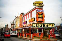 Geno's Steaks - Food and Drink - 1219 S 9th St, Philadelphia, PA, 19147, US