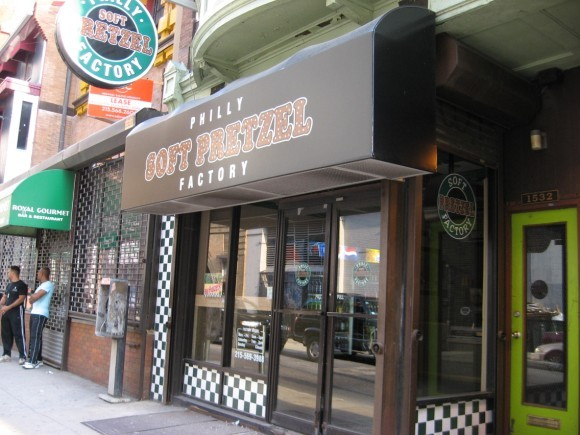 Phila Soft Pretzel Factory Inc - Favors, Restaurants - 1532 Sansom St, Philadelphia, PA, United States
