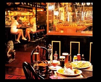 Crown & Anchor Pub - Bars/Nightife, Restaurants, Attractions/Entertainment - 150 W Franklin St, Monterey, CA, 93940