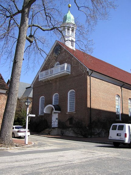 Home Moravian Church - Ceremony Sites - 529 S Church St, Winston-Salem, NC, 27101